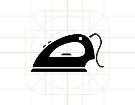 steam iron: Iron icon