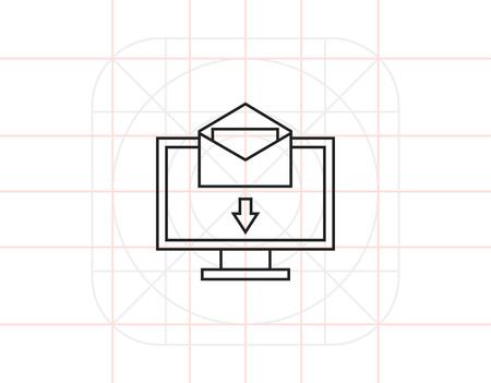 Electronic mail Illustration