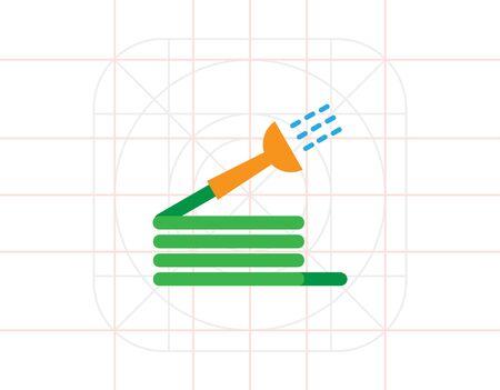 hose: Garden hose Illustration
