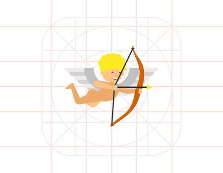 Cupid with Bow Icon