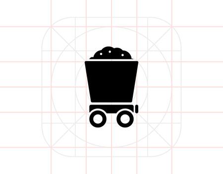 loaded: Loaded wagon Illustration