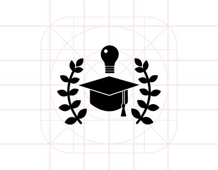 Mastery Simple Icon Векторная Иллюстрация
