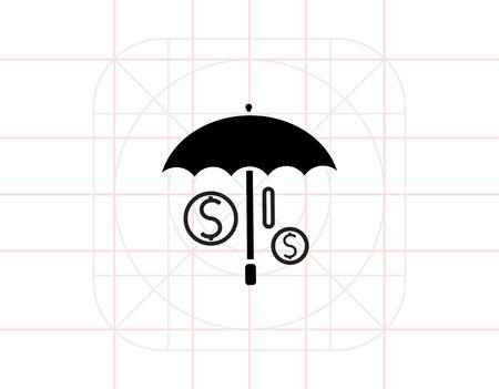 protection icon: Money protection icon