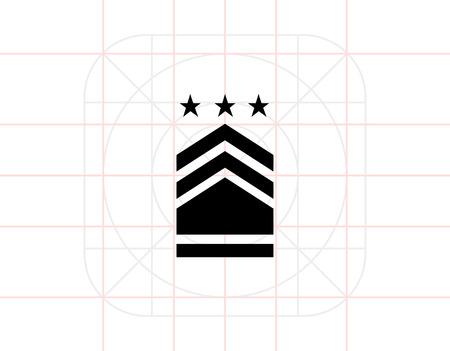 distinguishing: Military Badge Icon