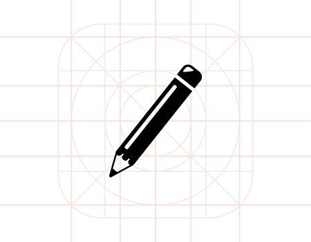 indelible: Pencil simple icon