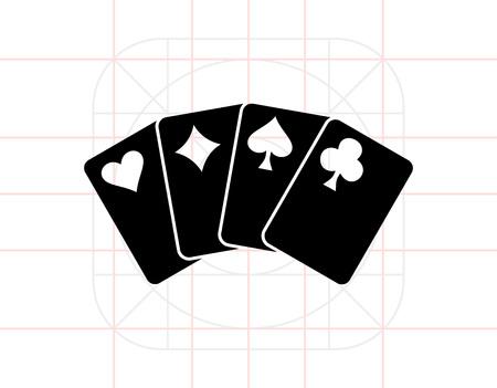 stake: Playing Card Icon