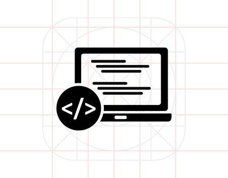 simple: Programming simple icon