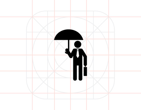 protection icon: Protection Concept Icon