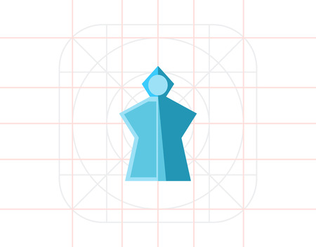 lightweight: Rain Poncho Icon