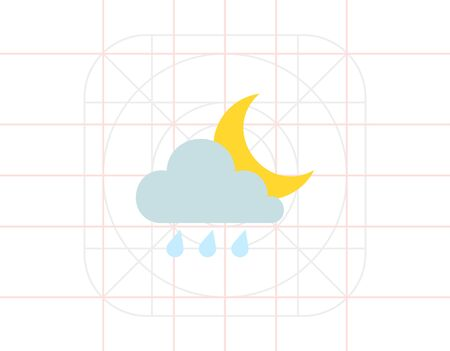predict: Rainy weather at night