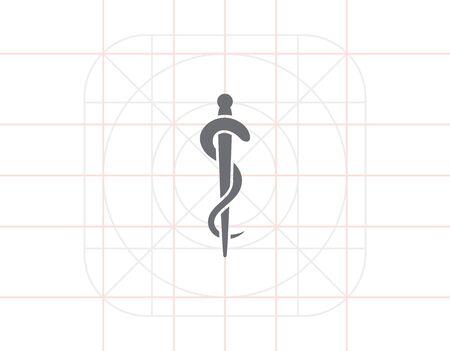 entwined: Rod of Asclepius