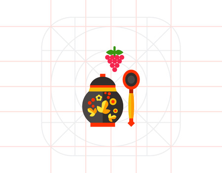 russian food: Russian Food Icon