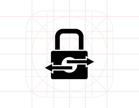 transactions: Secure Transactions Simple Icon