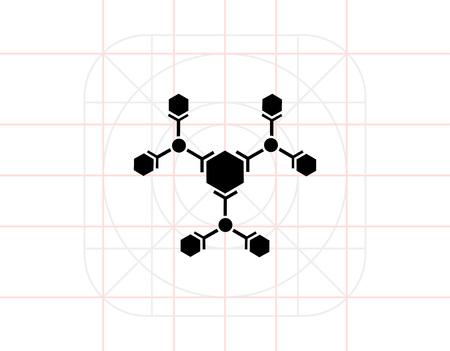 Science simple icon