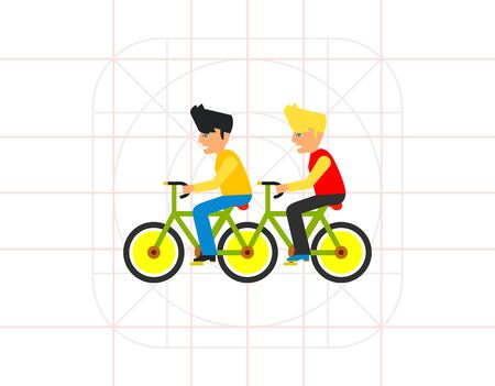Team flat icon