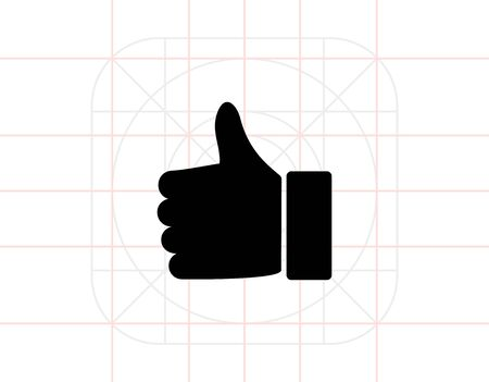 thump: Thumb Up Icon Illustration