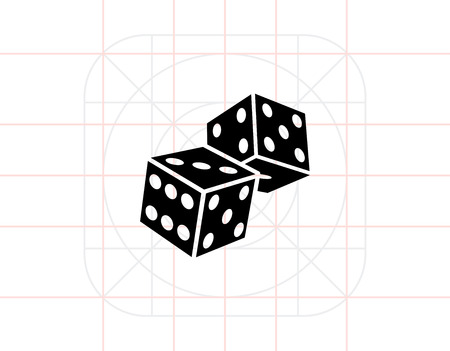 backgammon: Two Dice Icon