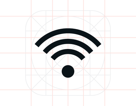 Wi-fi signal Illustration