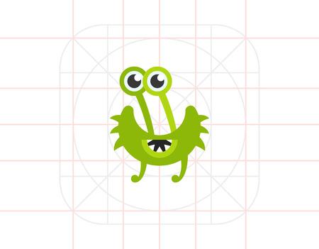 cilia: Virus Cartoon Character Icon 9