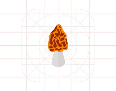 morel: Morel Mushroom Icon