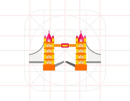 drawbridge: Tower Bridge Icon