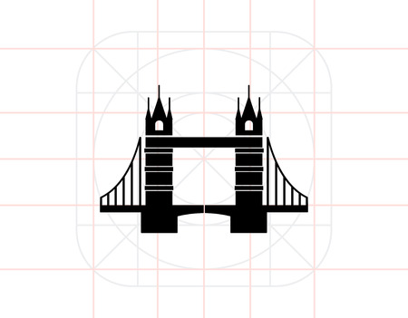 london tower bridge: Tower Bridge Icon