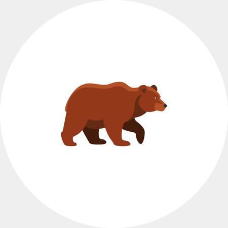 Bear icon Illustration