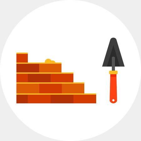bricklaying: Bricklaying and trowel