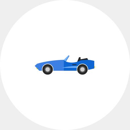 cabriolet: Cabriolet Concept Icon