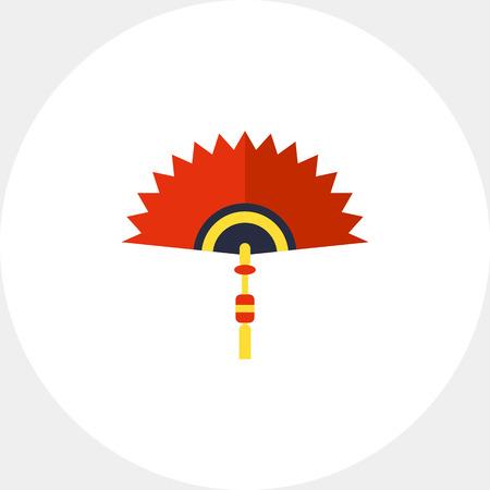 Chinese Folding Fan Icon