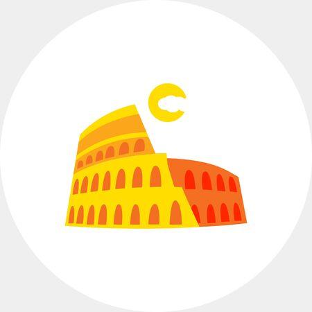 Kolosseum Vektorgrafik