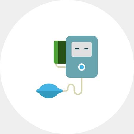tonometer: Electronic tonometer icon