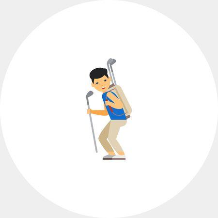 Golf Caddy Icône