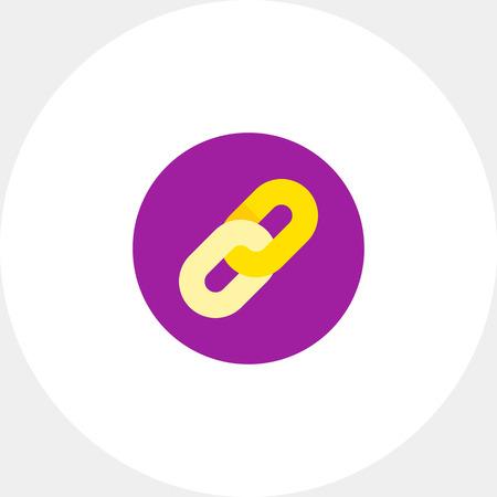 hyperlink: Hyperlink Sign Icon Illustration