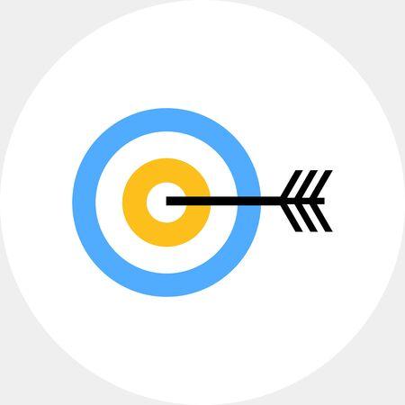 Hit target Illustration