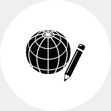distance: Distance Education Icon