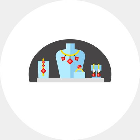 dummies: Dummies for Jewelry Icon Illustration