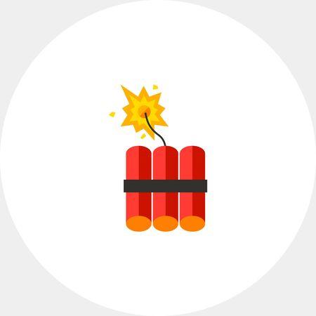 dinamita: Dynamite Vector Icon