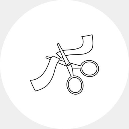 ribbon cutting: Cutting ribbon