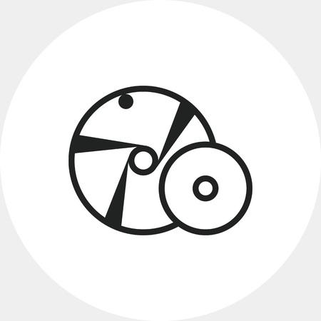 Grinding wheel icon