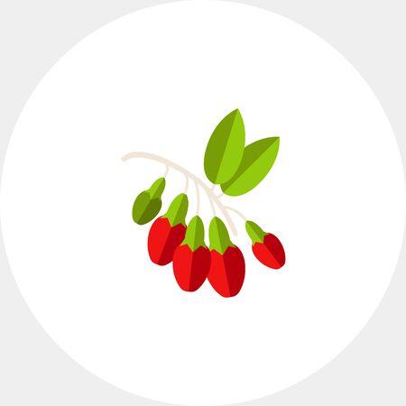 bunch: Bunch of Goji Berries Icon
