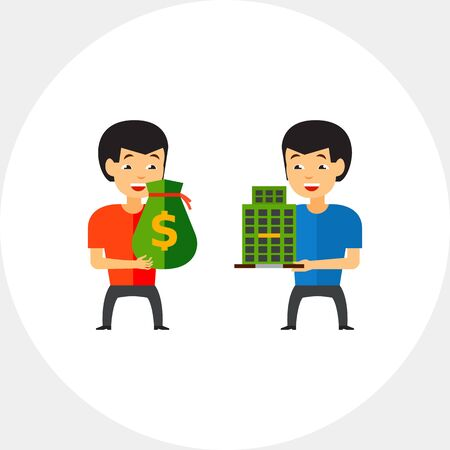 buying: Buying Company Concept Icon