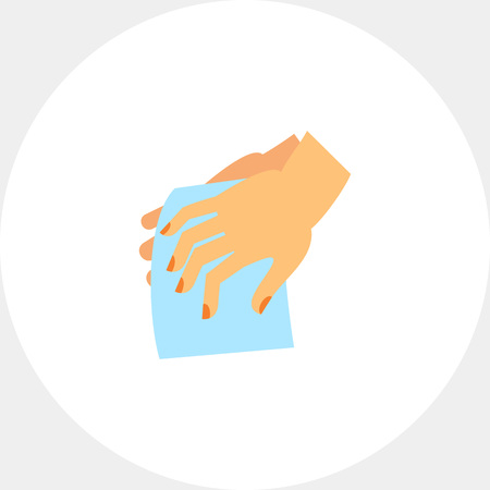handwashing: Drying Hands Icon
