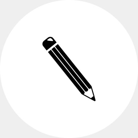 indelible: Isolated Pencil Icon