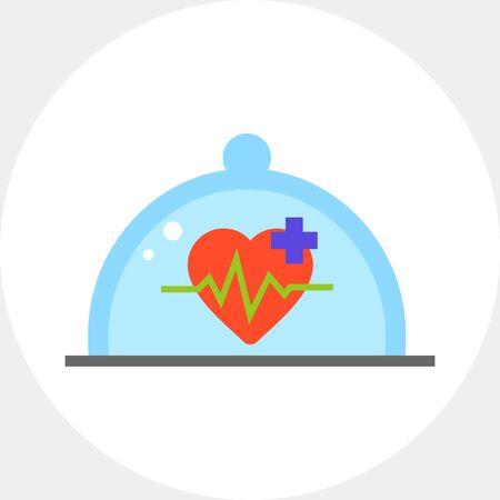 Health Insurance Concept Icon
