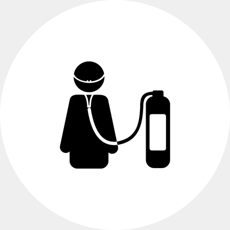 Life Support Concept Icon Illustration