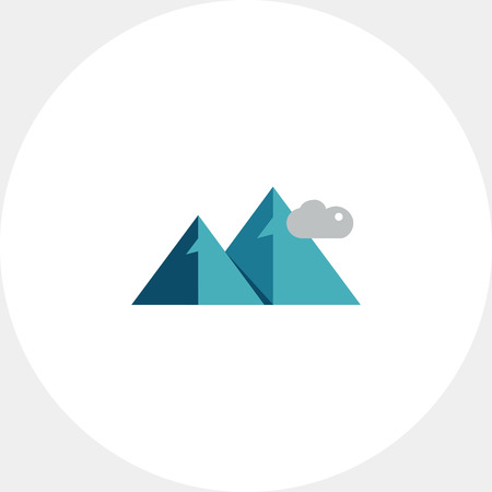 ridge: Mountains and clouds