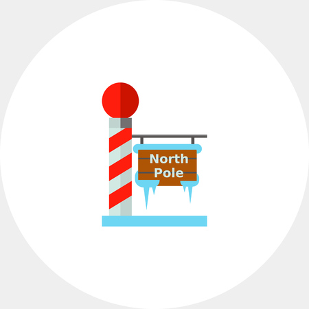 North Pole Tablet Icon