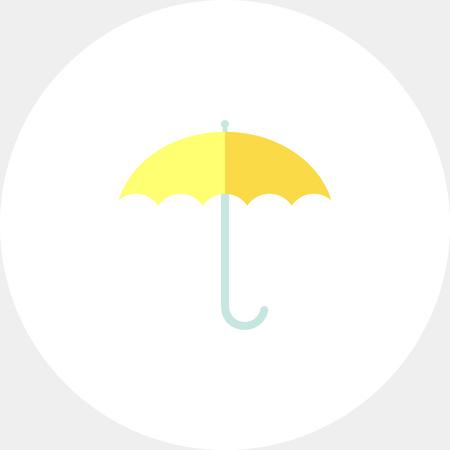 Icon of open umbrella Иллюстрация
