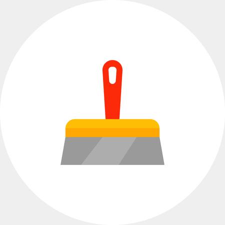 Plastering trowel icon